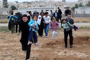 бежанци на границата 3