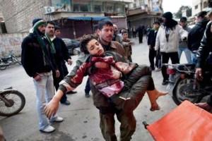 бомбардировка над Сирия