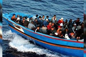 емигранти на кораб