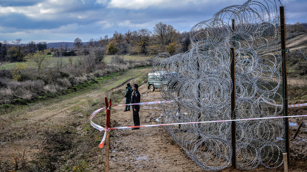 оградата към турция