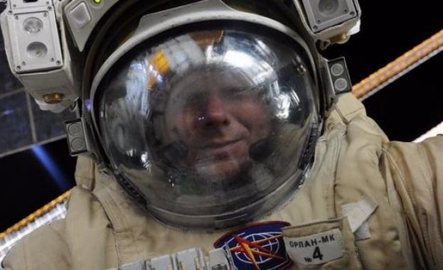 селфи космонавт