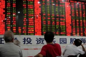 фондова борса китай