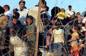 бежанци на границата 1