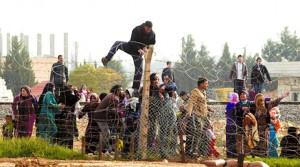 бежанци на границата 2