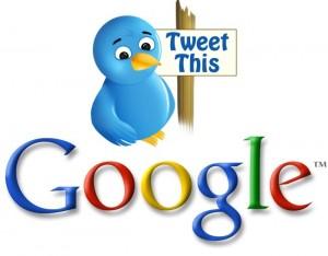 google & twetter