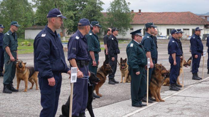 полицейски кучета