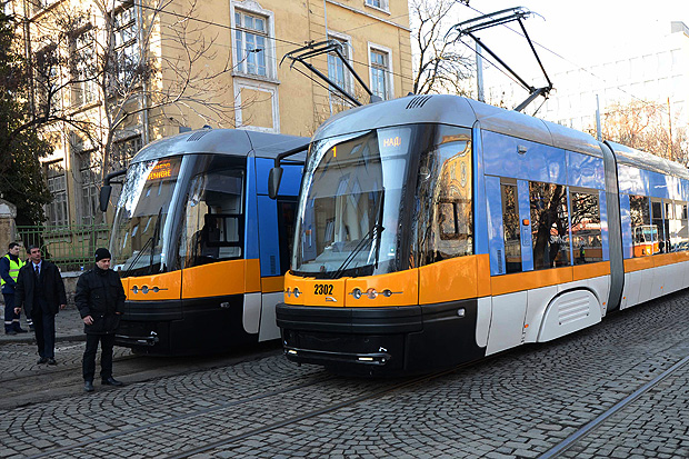 трамвай в
