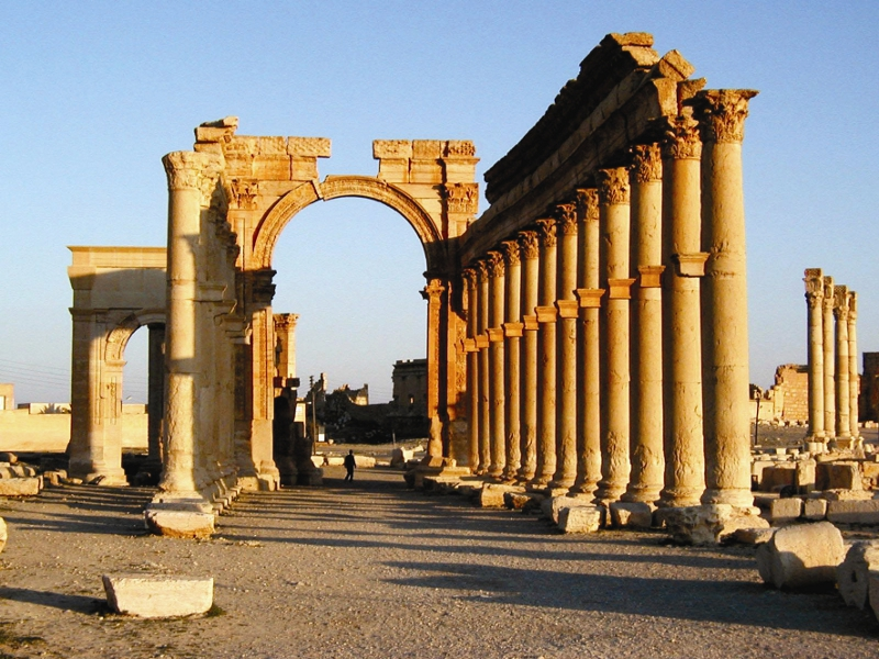 Триумфалната арка в Палмира