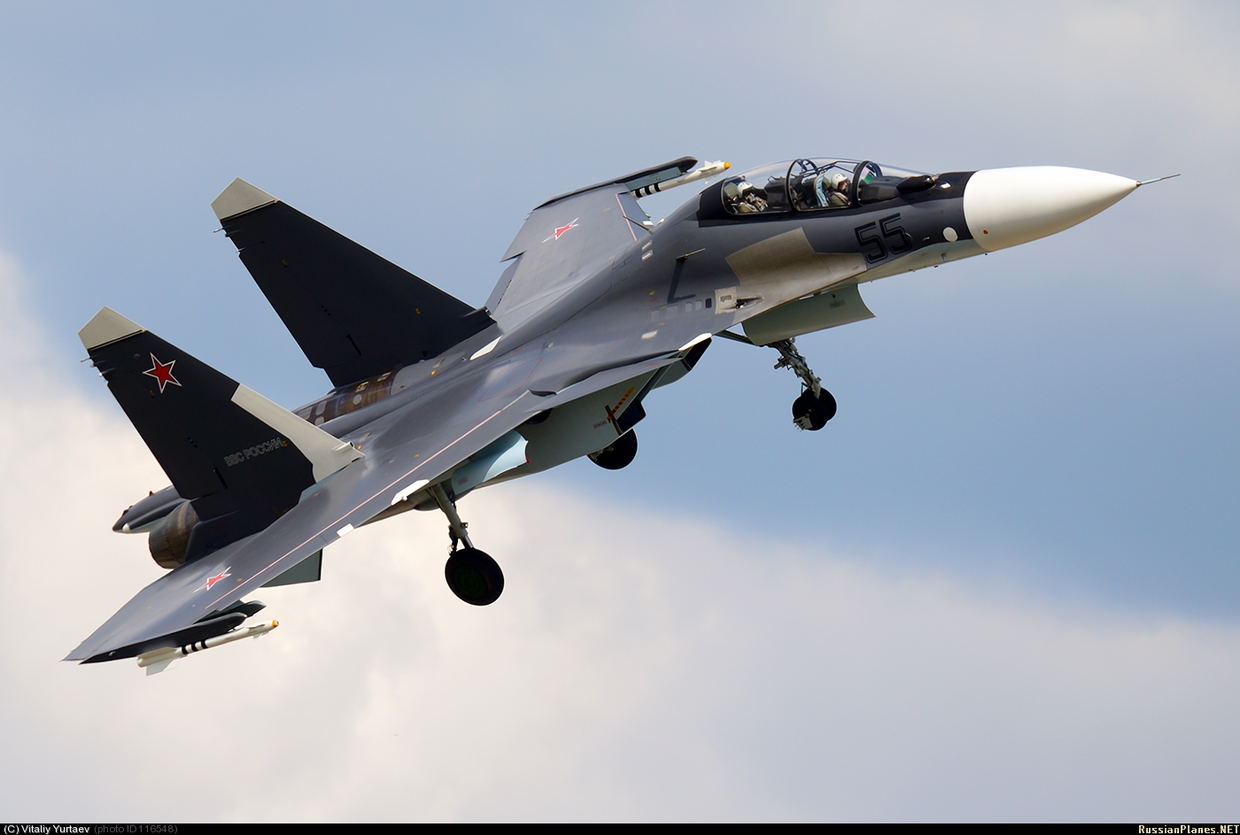 руските военни самолети Су 30см
