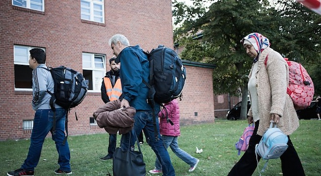 швеция мигранти