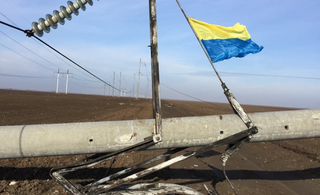 взривен далекопровод Украйна Русия