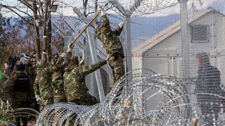 македония гърция ограда