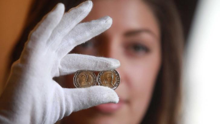 монета 2 лева от 2015г