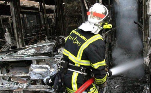 пожар лагер Франция