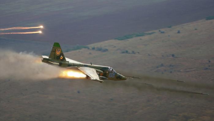 руските военни самолети Су 25 3