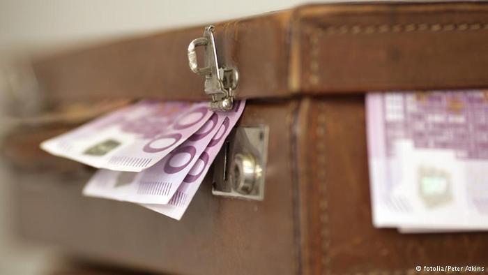 евро в куфар