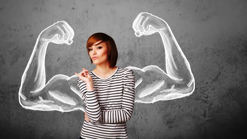 силна жена