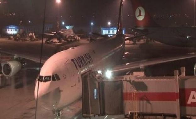 Взрир на летище в Турция