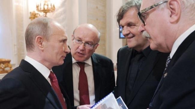 Путин Кустурица