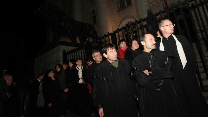 съдии протестатори