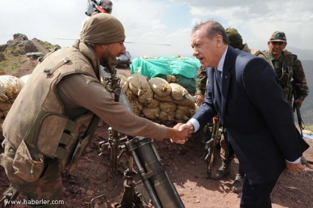 Ердоган на фронта