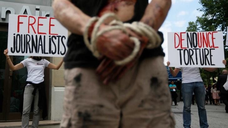 110 убити журналиста през 2015г