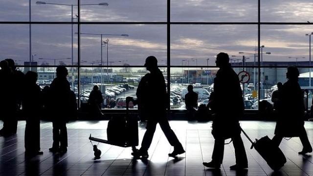 пътници на летище