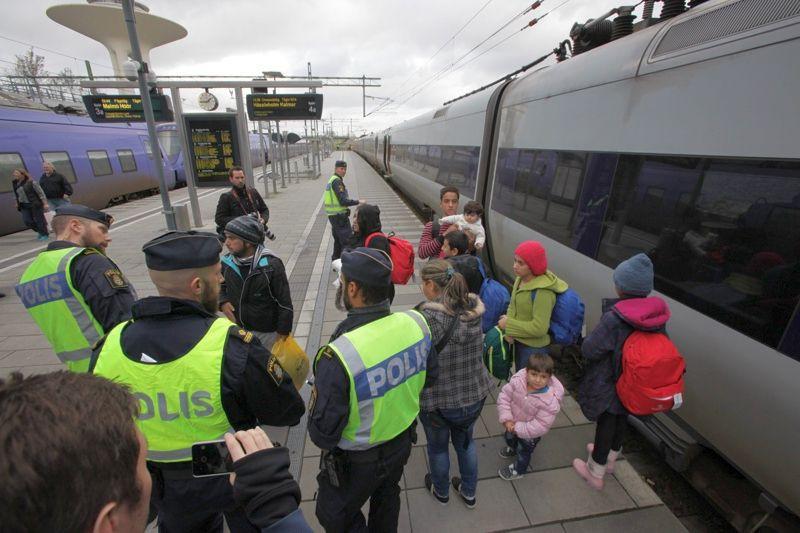 Швеция паспортен контрол