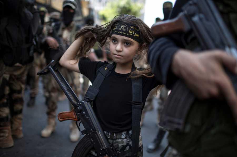 момиче ислямист