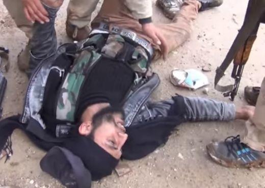 прострелян джихадист