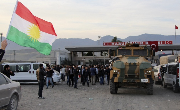 шофьори ирак турция граница