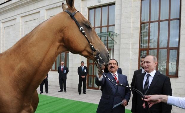 Путин и Халифа