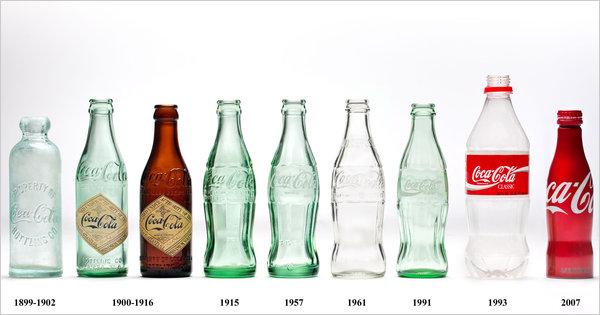 бутилки кока кола