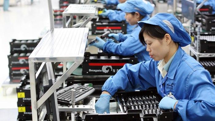 китайска фабрика