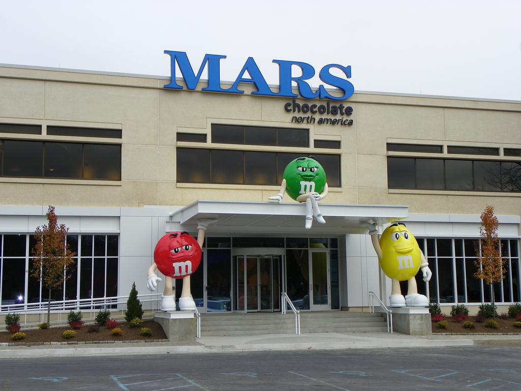 марс шоколади