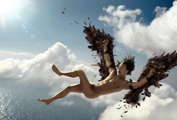 падащ ангел