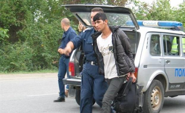 полиция мигрант арест