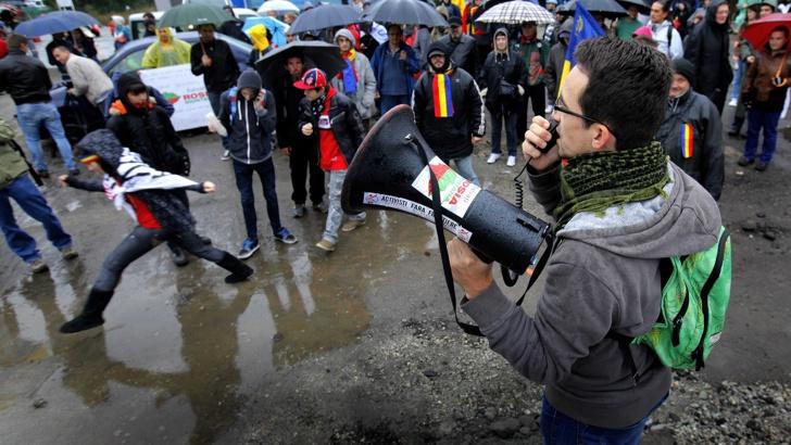 протест румъния