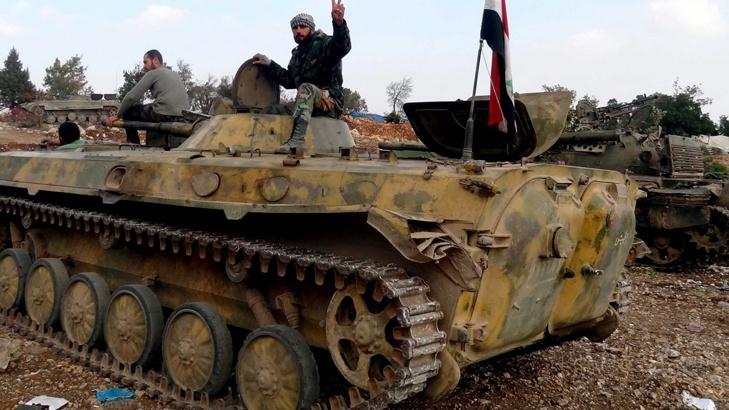 сирия танк