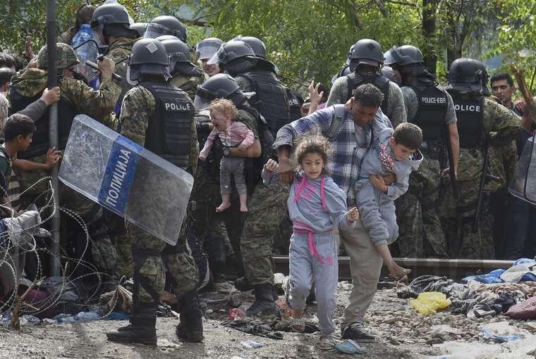 сърбия и македония полиция