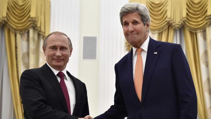 Путин и Кери