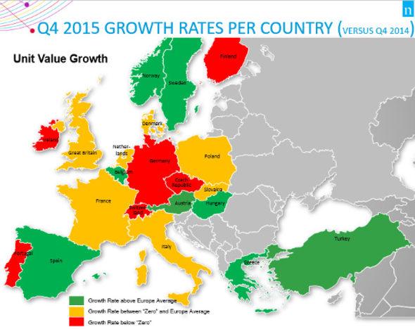 европа бързооборотни стоки