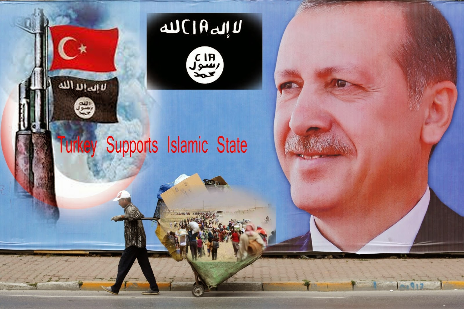 турция поддържа ислямска държава