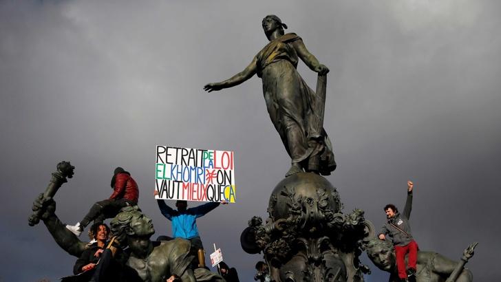 франция протест 1