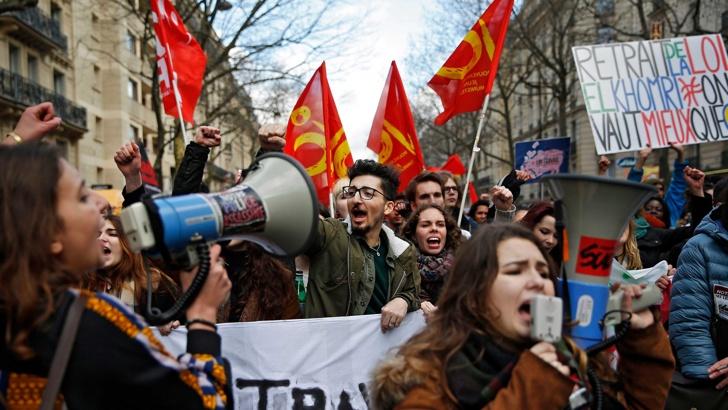 франция протест 2