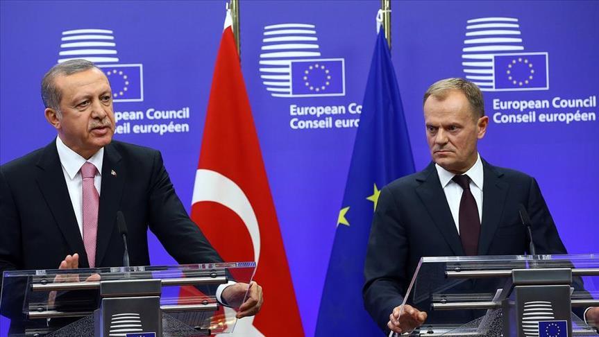 Туск и Ердоган