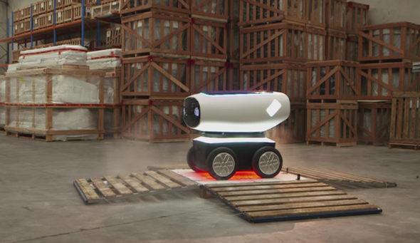Domino's робот