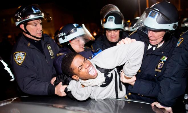 Арест на чернокож