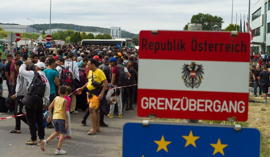 австрия бежанци