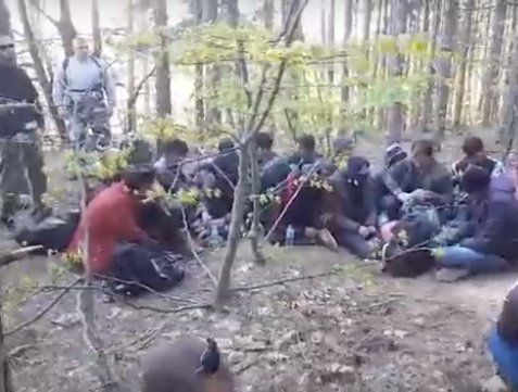 заловени мигранти